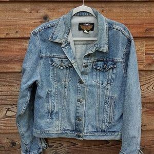 Harley Davidson denim jacket xl mens